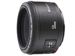 Canon単焦点レンズf1.8