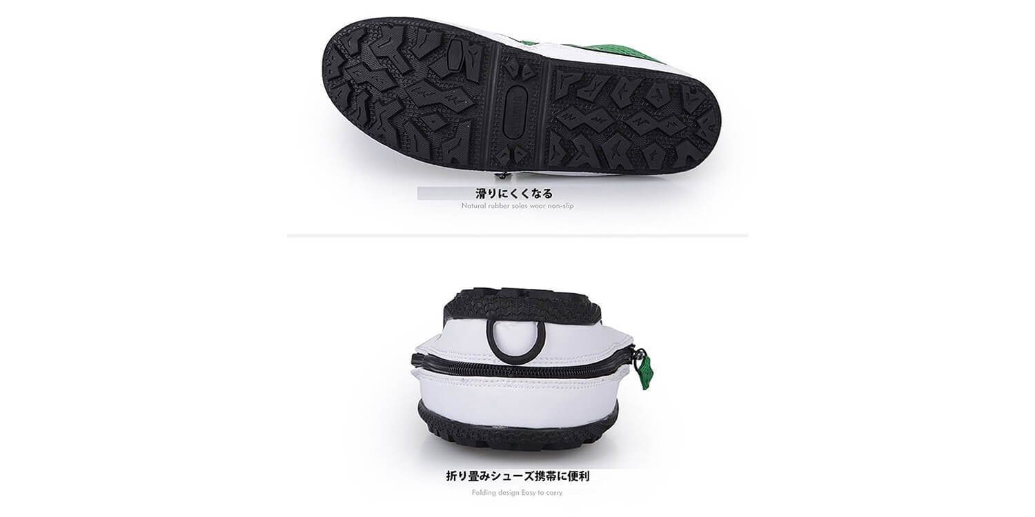 Collapsible shoes 1