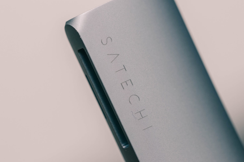 SATECHIのMacBook Pro専用USB-Cハブをゲット!欲しいポート全部入り。