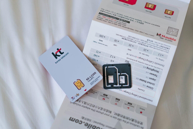 Korea prepaidsim 2