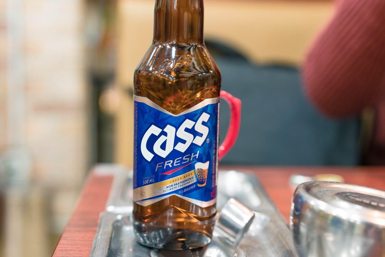 神仙ソルロンタンのビール