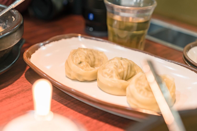 神仙ソルロンタンの餃子