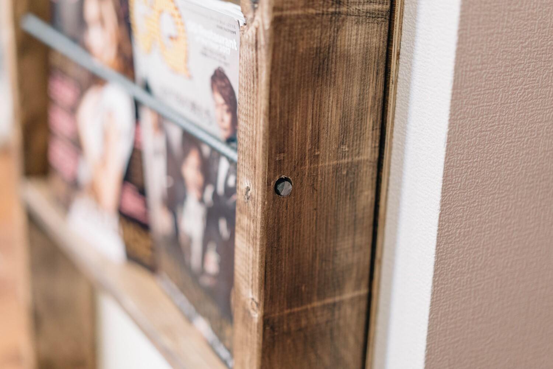 Diy magazine shelf sub 10