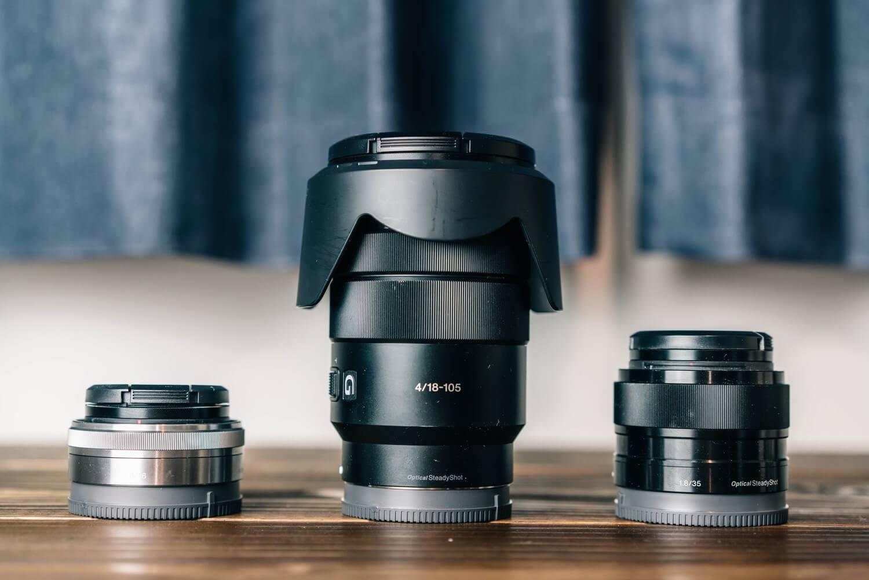 E mount lens 8