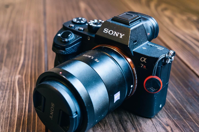 Sony SEL55F18Zとα7R2を組み合わせてみた