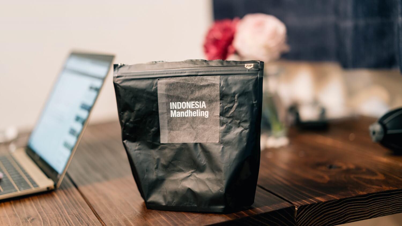 タカムラの、マンデリンのコーヒー