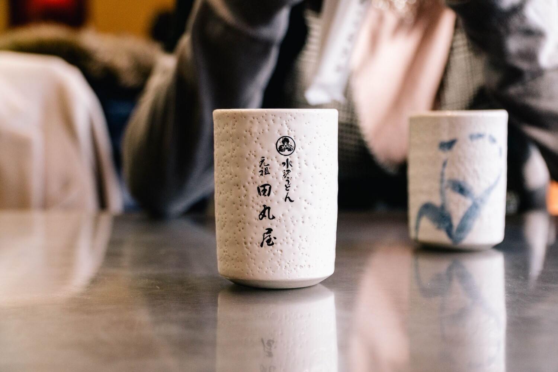 お茶もとても美味しい