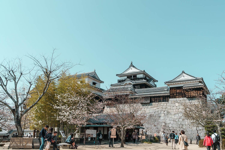 かっこいい松山城