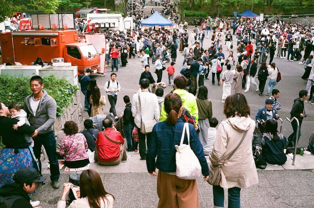 四川フェスの光景