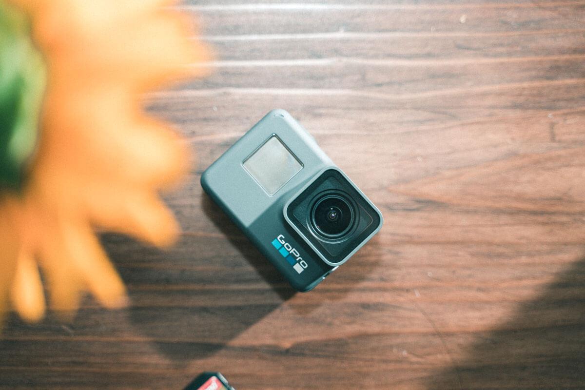 軽くてコンパクトな GoPro HERO 6