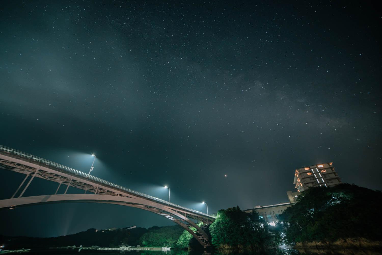 三重県の夜は星も撮影可能