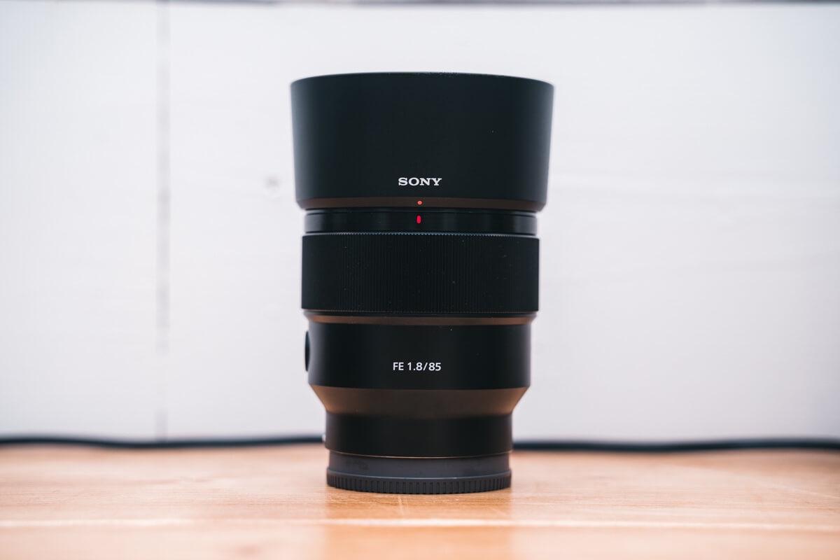 Sony 85mm F1.8の外観