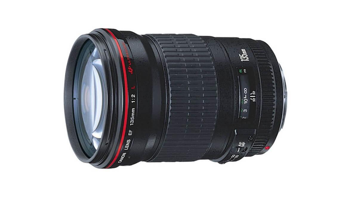 Canon EF135mm F2L USMの外観