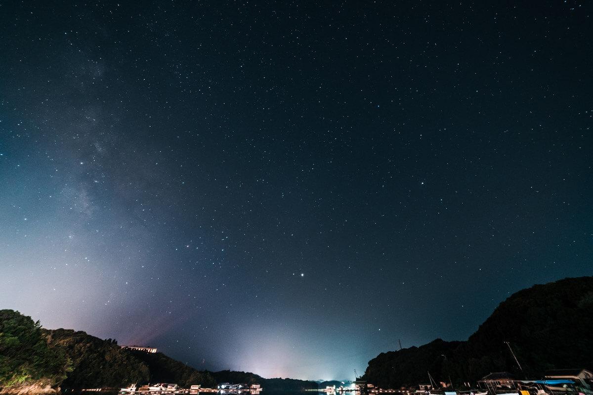 Samyang 14mm F2.8で撮影下2枚目の星空