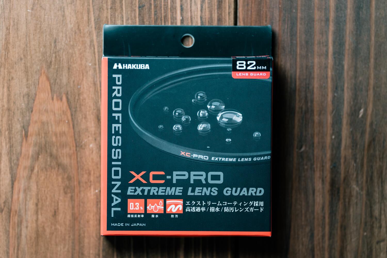 HAKUBAの保護フィルター XC-PRO