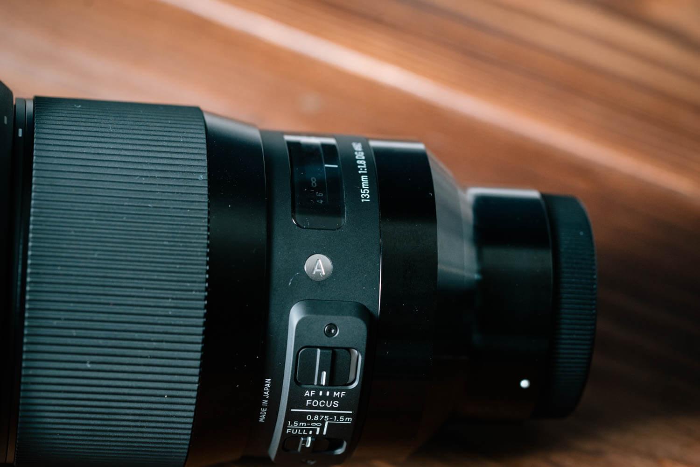 圧倒的な重厚感がめちゃくちゃ良い、SIGMA 135mm F1.8 DG HSM
