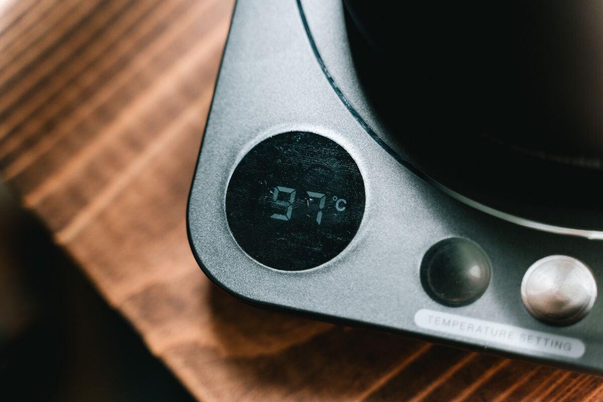 温度調節機能がついている