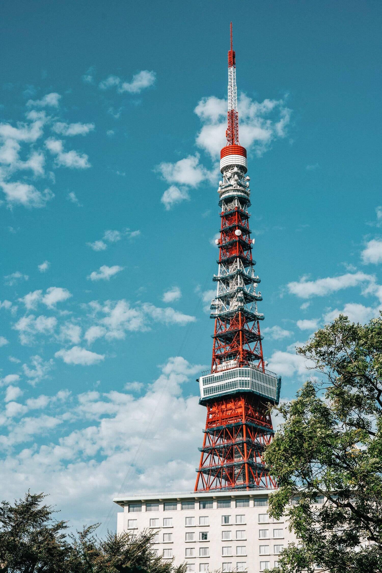東京タワーの作例