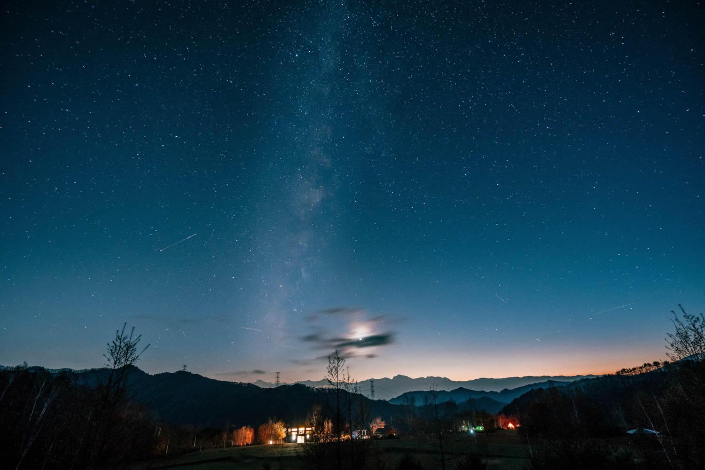 16-35mmで撮影した星空の作例