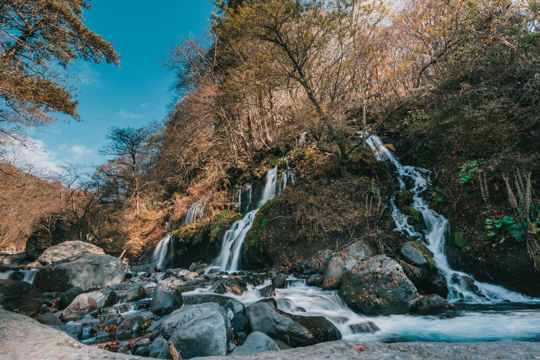16-35mmで撮影した滝の写真