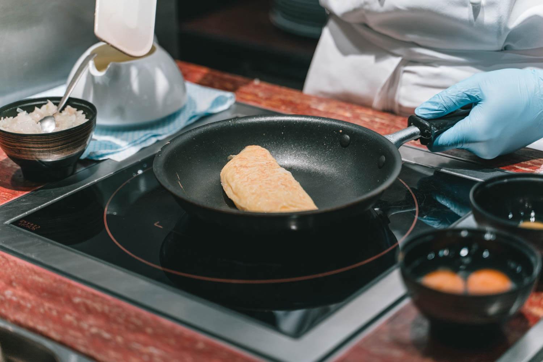 マンダリンオリエンタル台北のキッチンスペース