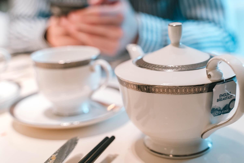 最後は珈琲と紅茶で