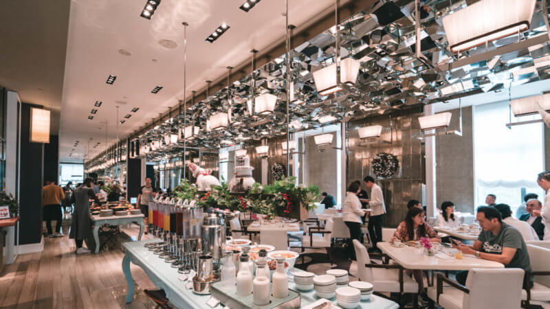 マンダリンオリエンタル台北の朝食メイン画像