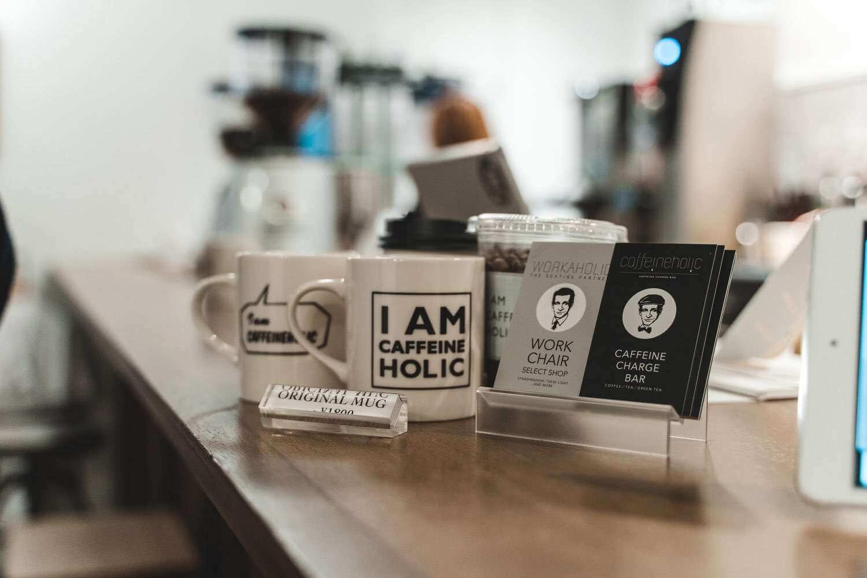 併設されたcaffeineholic