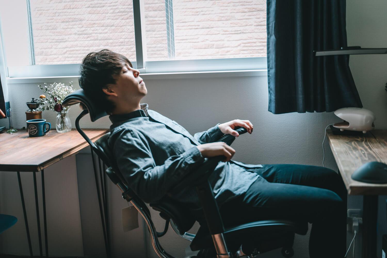 エルゴヒューマン(Ergohuman)ベーシック使用感をレビュー!最高の座り心地とその機能。