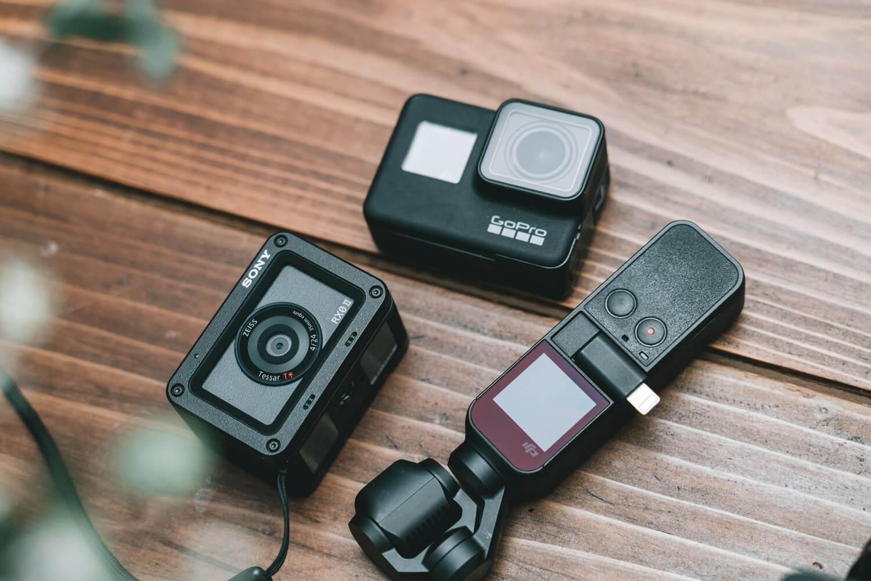VLOG用途で比較した3つの小型カメラ